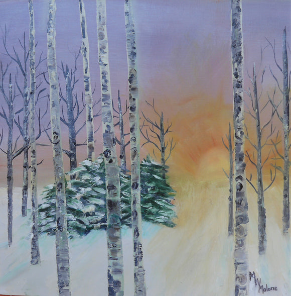 Morning Aspen II - Artistic Transfer, LLC