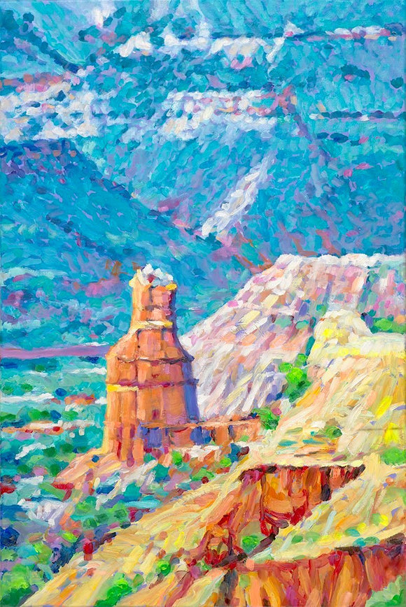 Palo Duro Canyon Lighthouse - Artistic Transfer, LLC