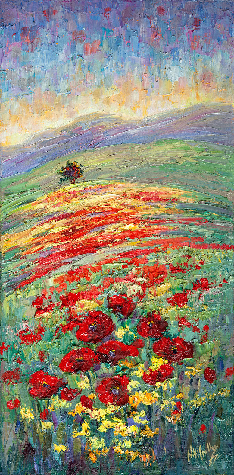 Pop of Color III (Poppies) - Artistic Transfer, LLC