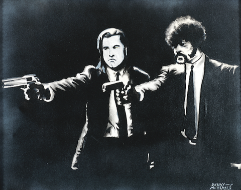Pulp Fiction (Ezekiel 25:17) - Artistic Transfer, LLC