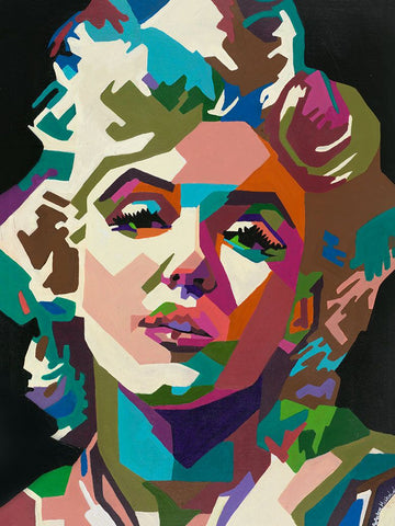 Marilyn Monroe by Amber McNeel - Artistic Transfer, LLC