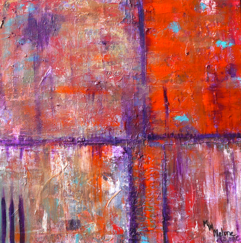 Red/Purple Abstract - Artistic Transfer, LLC