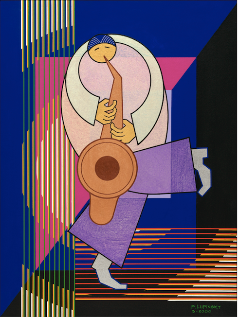 The Saxophonist - Artistic Transfer, LLC