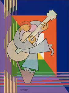 The Guitarist by Paul Lupinsky - Artistic Transfer, LLC