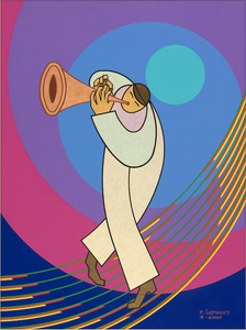The Trumpet Player - Artistic Transfer, LLC