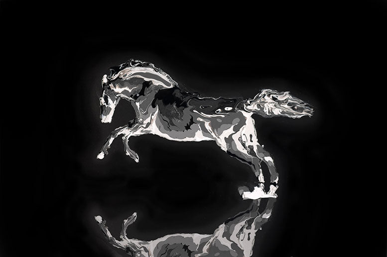 Black Beauty - Horse - Artistic Transfer, LLC