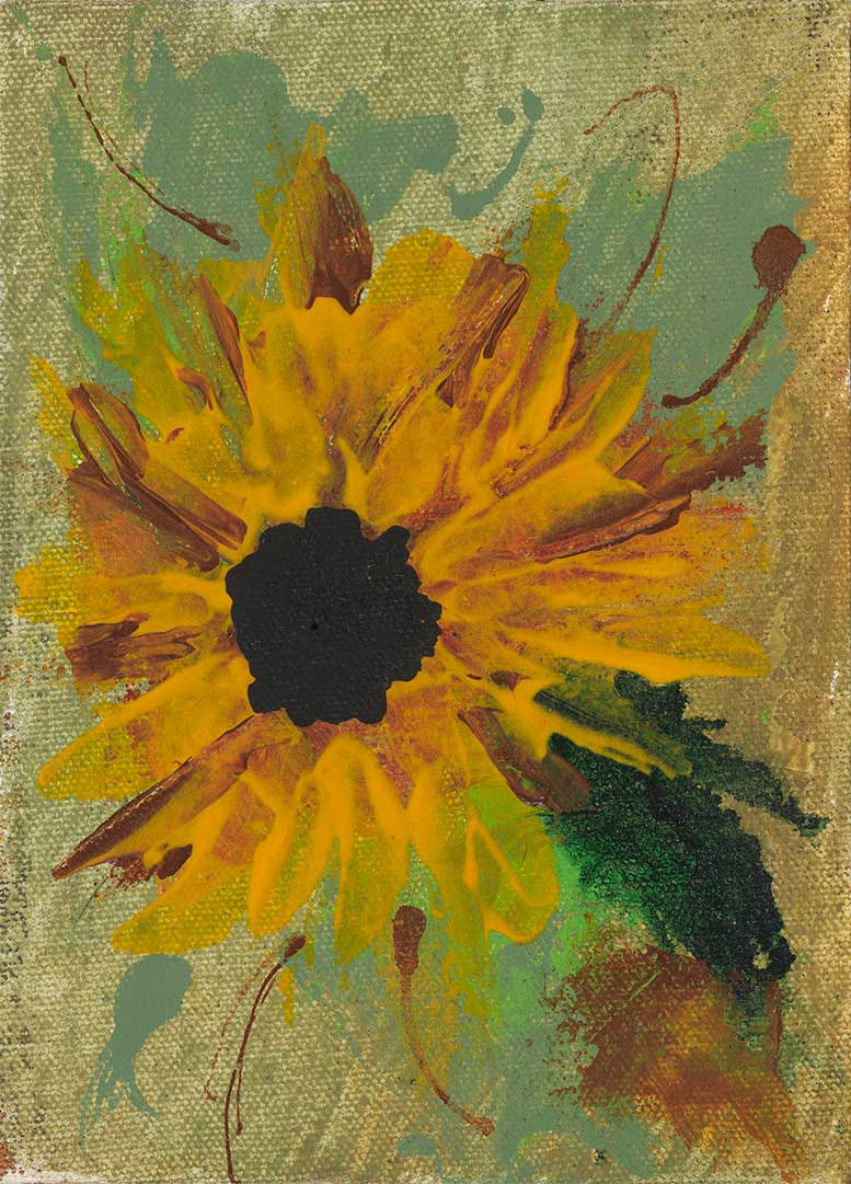 Sun Flow into Flower - Artistic Transfer, LLC