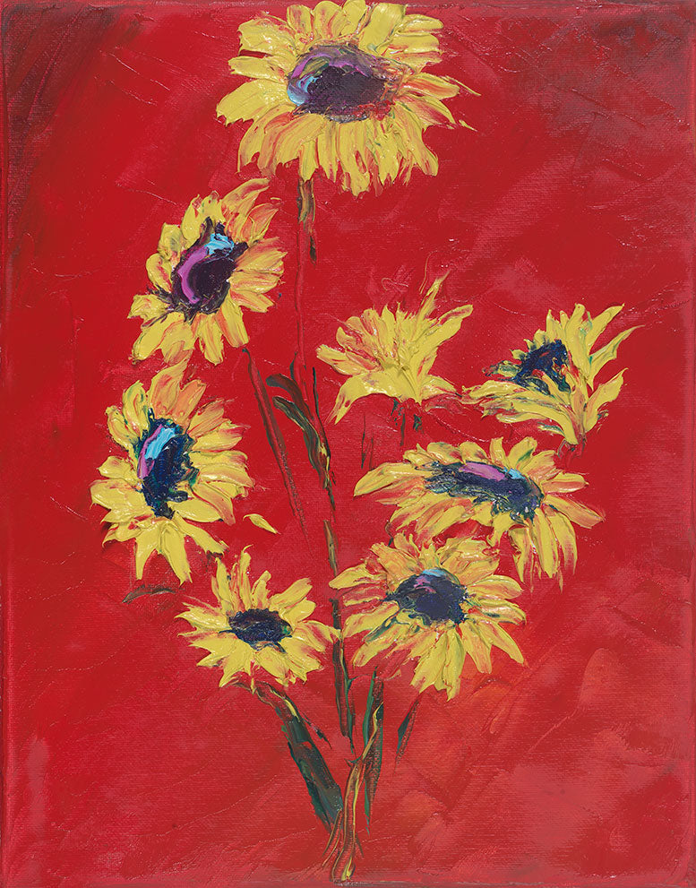 Sunflowers At Rest - Artistic Transfer, LLC
