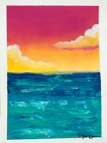 Sunset At Sea - Artistic Transfer, LLC