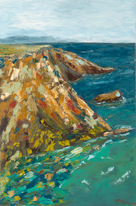 The Cliffs of the West Coast by Teresa Krieger - Artistic Transfer, LLC