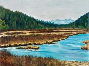The-Lewis-River,-Yellowstone - Artistic Transfer, LLC