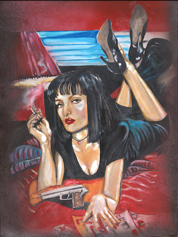Uma Thurman in Pulp Fiction - Artistic Transfer, LLC