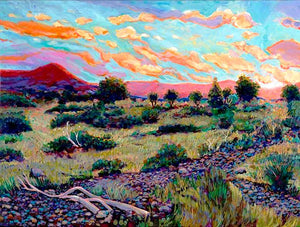 West Texas Scrub Bush - Artistic Transfer, LLC