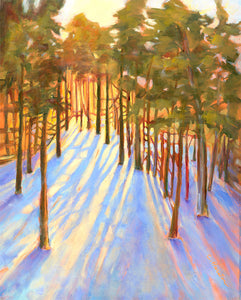 Winter Pines in Angelfire - Artistic Transfer, LLC