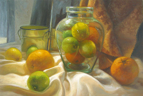 Citrus Jar - Artistic Transfer, LLC