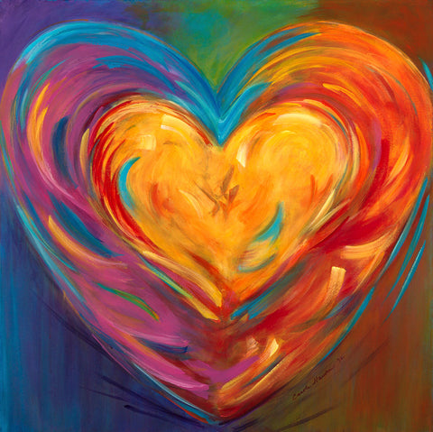 Rainbow Heart II - Artistic Transfer, LLC