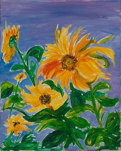 Radiant Sunflowers - Artistic Transfer, LLC