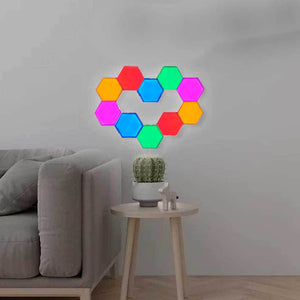 Luces de pared, modulares, táctil, blancas o color