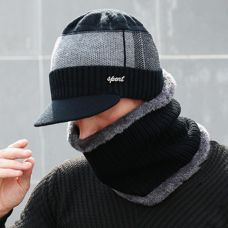 2019 men and women winter hat scarf
