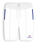 Henselite Britannia Sports Shorts White or Royal Blue