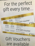 GIFT VOUCHER £10 Multiples
