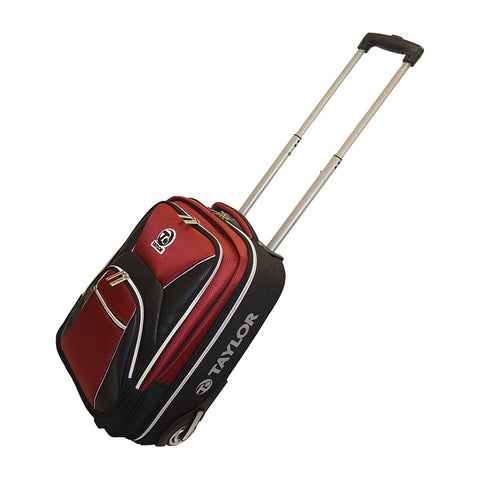 Taylor Club Tourer Trolley Bowls Bag RED/BLUE/NAVY