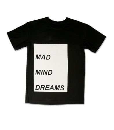 mmd offcentre tee, all time collection by 'mad mind dreams indian streetwear brand'