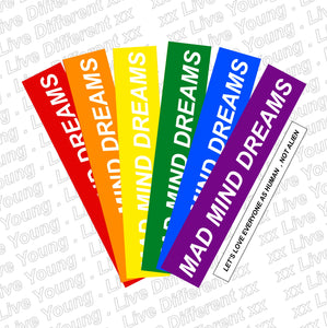 MMD LGBTQ Pride Collection Stickers, laptop stickers in india