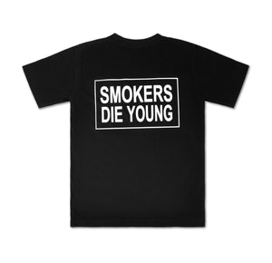 smokers die young tee , all time collection by mad mind dreams indian streetwear brand
