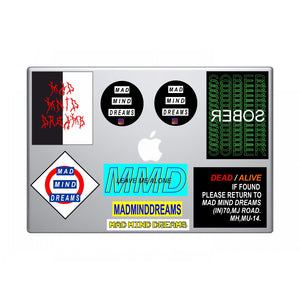 MMD Laptop Stickers, buy stickers online in india