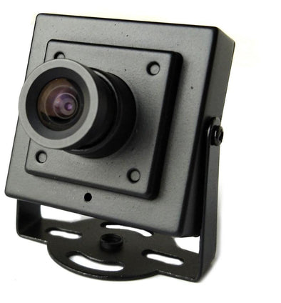 Security Camera With Metal Body
