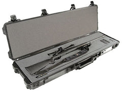 Pelican 1750 Case with solid foam - Black