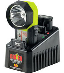 Pelican 3750 Big Ed Rechargeable System w/110v Fast charger