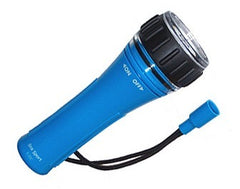 Underwater Flashlight - 2 C Cells, Blue