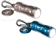 Pelican 1810 LED Keychain Flashlight, (2 Flashlights - one Blue and one Gold)