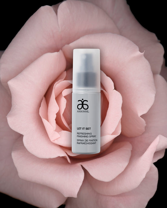 Natural Make-Up | Arbonne Ireland | Gluten Free Make-Up | Makeup | Let it Set Refreshing Finishing Spray