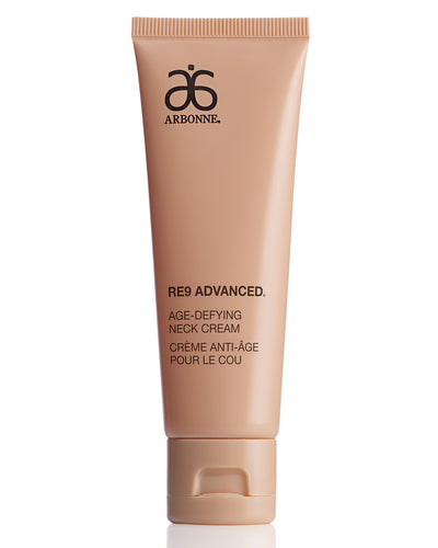 Natural Skincare | Arbonne Ireland | Anti-Aging Skincare | RE9 Advanced | Age-Defying Neck Cream