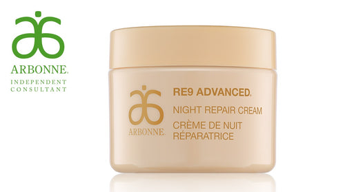 Natural Skincare | Arbonne Ireland | Anti-Aging Skincare | RE9 Advanced | Night Repair Cream