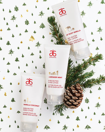 Natural Products | Arbonne Ireland | Christmas Gift Ideas | Arbonne Shea Butter Collection Hand Cream Trio