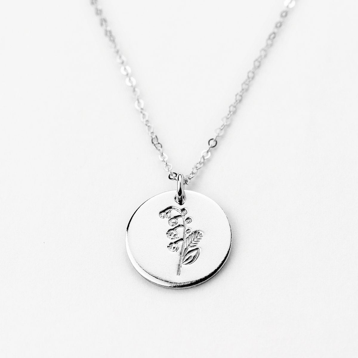 May Lily of the Valley Necklace