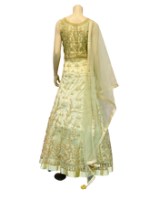 Load image into Gallery viewer, Full Golden Anarkali Gown - Jyotika Patel Designs