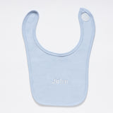 Light Blue Cotton Bib