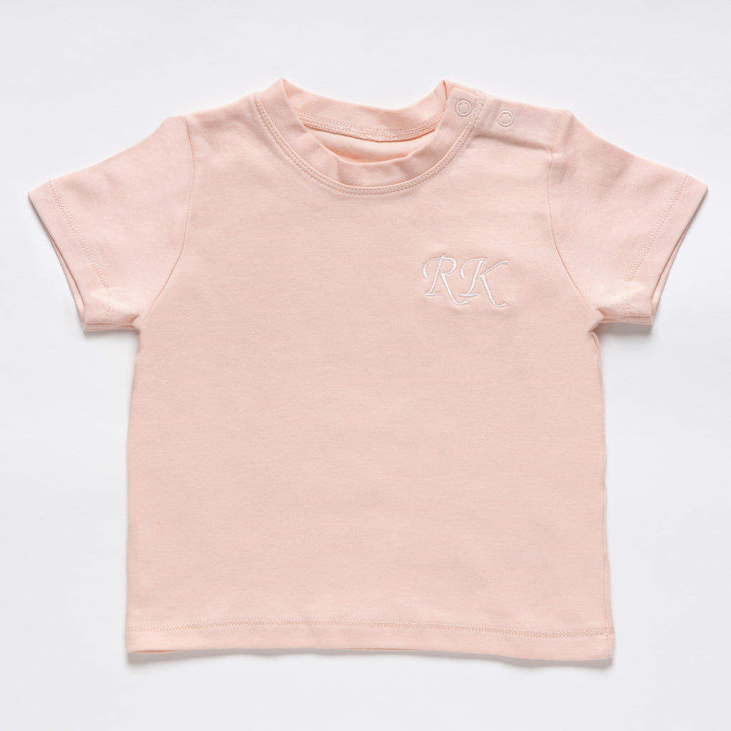 Baby Soft Pink Cotton T-Shirt