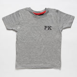 Toddler Grey Cotton T-Shirt