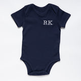 Navy Short Sleeve Bodysuit