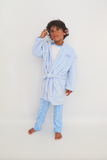 Soft Blue Dressing Gown