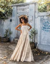 Bata Rumba Long Dress by Erika Peña