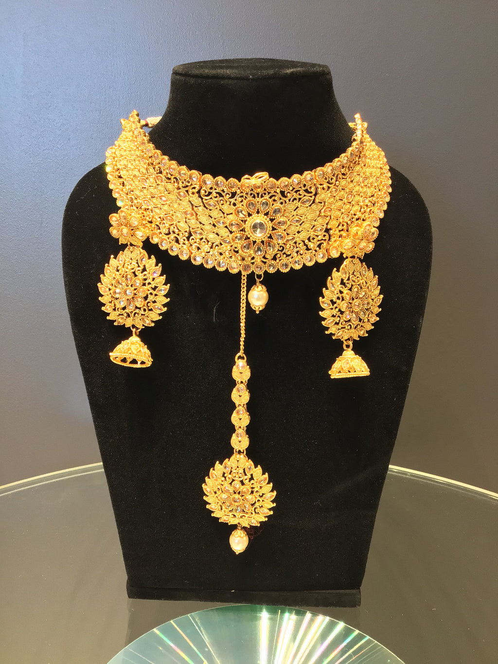 Bridal Gold Choker Set