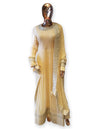 Beige Anarkali Dress