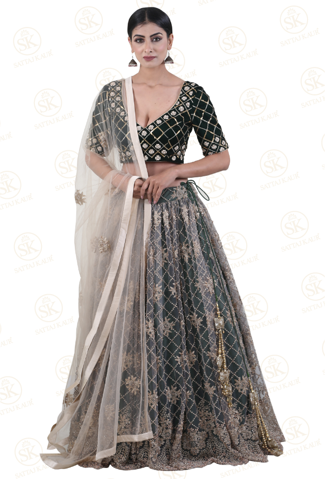 Night Garden Lehenga Choli